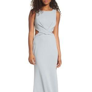 Lulu's Cutout Mermaid Gown. Great bridesmaid dress